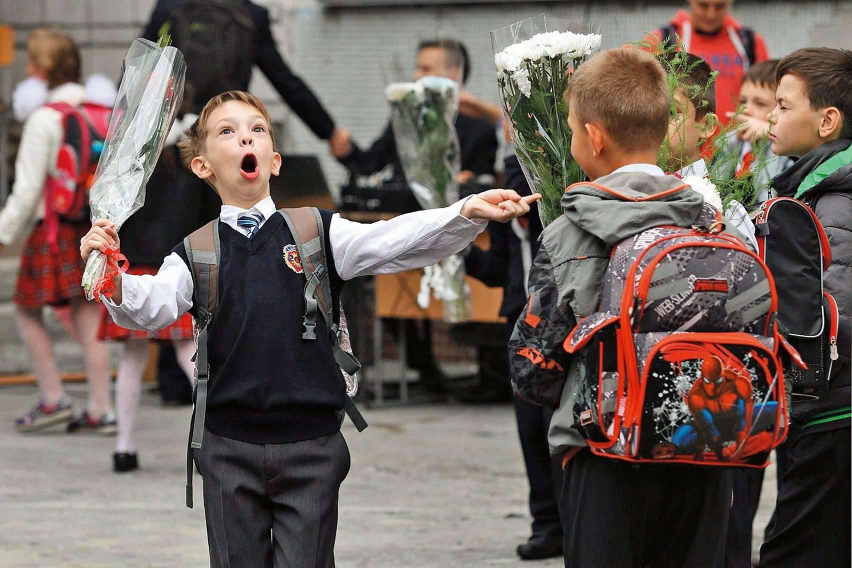 Прикольные картинки на 1 сентября про школу